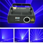L138B 300mW blue 450nm DMX disco laser light